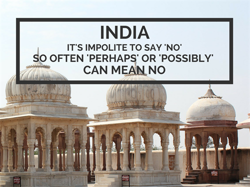 India Office Culture Impolite To Say No