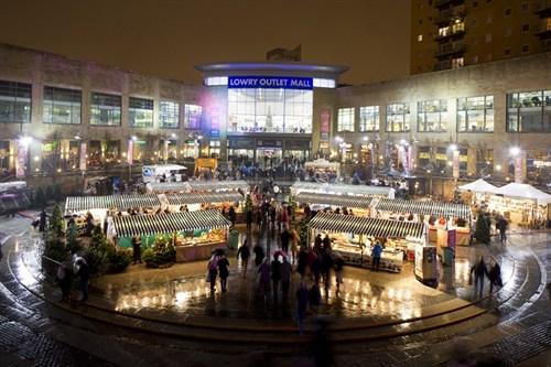 Mediacityuk Christmas Market