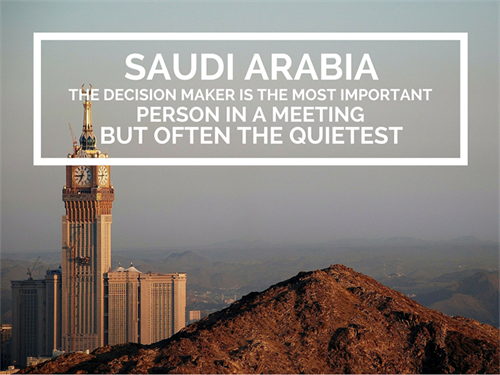 Saudi Arabia Office Culture Decision Maker
