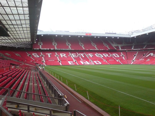 Stretford End Footbal Stadium Mediacity